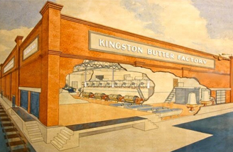 Kingston Butter Factory's rich and proud history