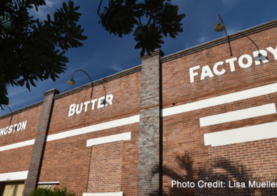 Kingston Butter Factory – front façade profile